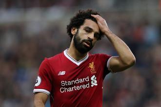 Нападающий «Ливерпуля» и сборной Египта Мохаммед Салах