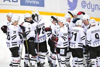 Хоккеисты клуба КХЛ «Трактор»