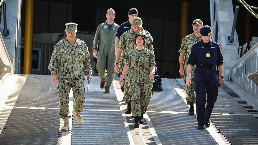 Шестой флот США пояснил, что в Черном море делает сторожевой корабль