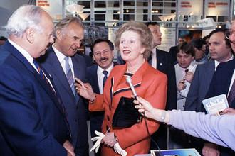 Визит премьер-министра Великобритании Маргарет Тэтчер в СССР, 1990 год
