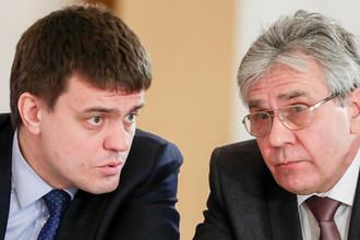 Министр науки и высшего образования РФ Михаил Котюков и президент РАН Александр Сергеев