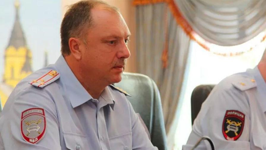 Начальник управления ГИБДД по Нижегородской области Павел Ржевский