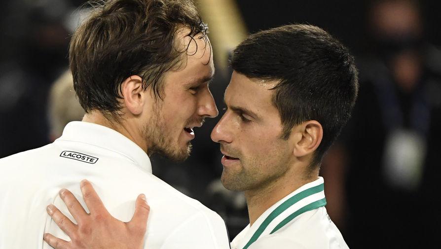 Россиянин Даниил Медведев и серб Новак Джокович в финале Australian Open — 2021