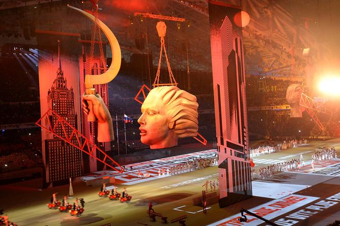 Церемония открытия XXII зимних Олимпийских игр в Сочи