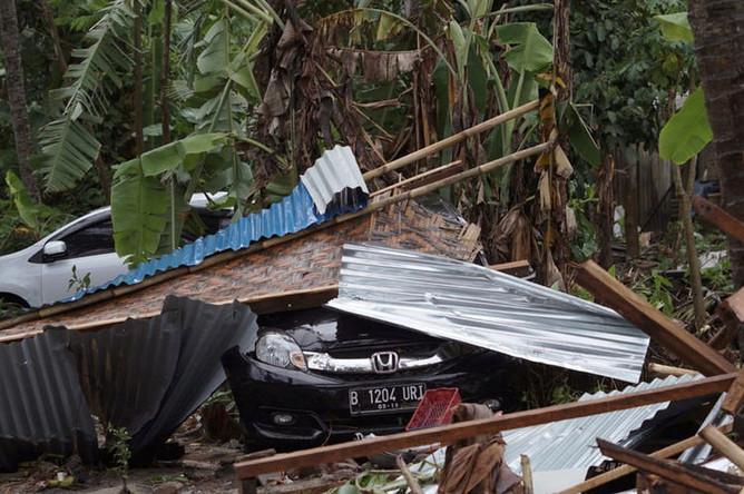 Последствия цунами в Индонезии, 23 декабря 2018 года