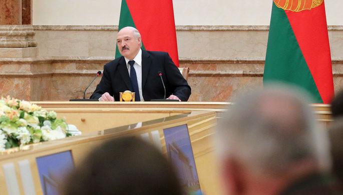 Президент Белоруссии Александр Лукашенко на совещании по новому составу правительства, 4 июня 2020 года