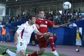 В обновленном составе «Петротрест» не затерялся в первом дивизионе