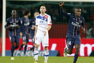 Блез Матюйди только что забил в ворота «Лиона»