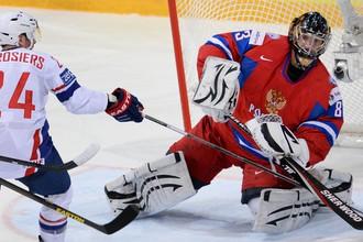 Василий Кошечкин отражает атаку французов