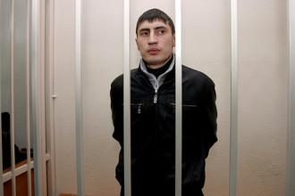 Один из обвиняемых экс-полицейских «Дальнего» Алмаз Василов
