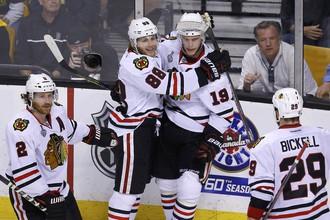 «Чикаго» в овертайме переиграл «Бостон» и сравнял счет в серии