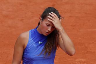 Дарья Касаткина проиграла в третьем круге «Ролан Гаррос» Симоне Халеп