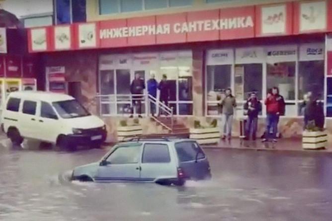 Затопление в Сочи, 25 октября 2018 года