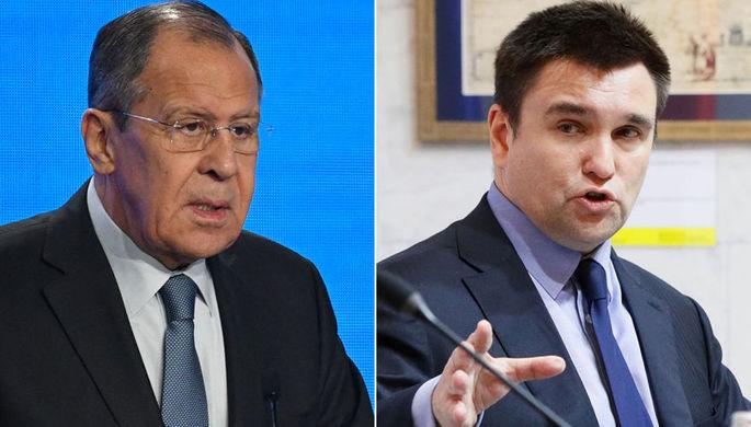 «Имею право»: как Климкин кидал бумаги на встрече с Лавровым