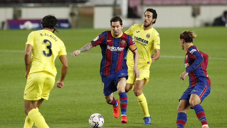 эпизод матча «Барселона»- «Вильярреал»