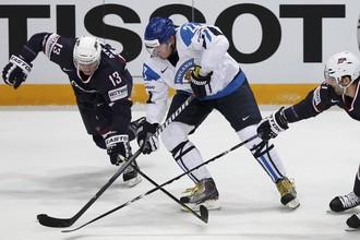 В плей-офф сборные США и Финляндии играли по-другому, чем в групповом турнире