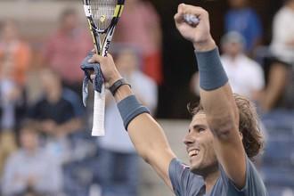 Рафаэль Надаль вышел в полуфинал US Open