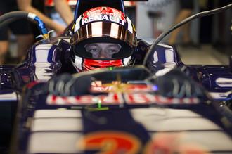 Даниил Квят стал восьмым в своей первой квалификации в «Формуле-1»