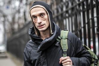 Петербургский художник Петр Павленский