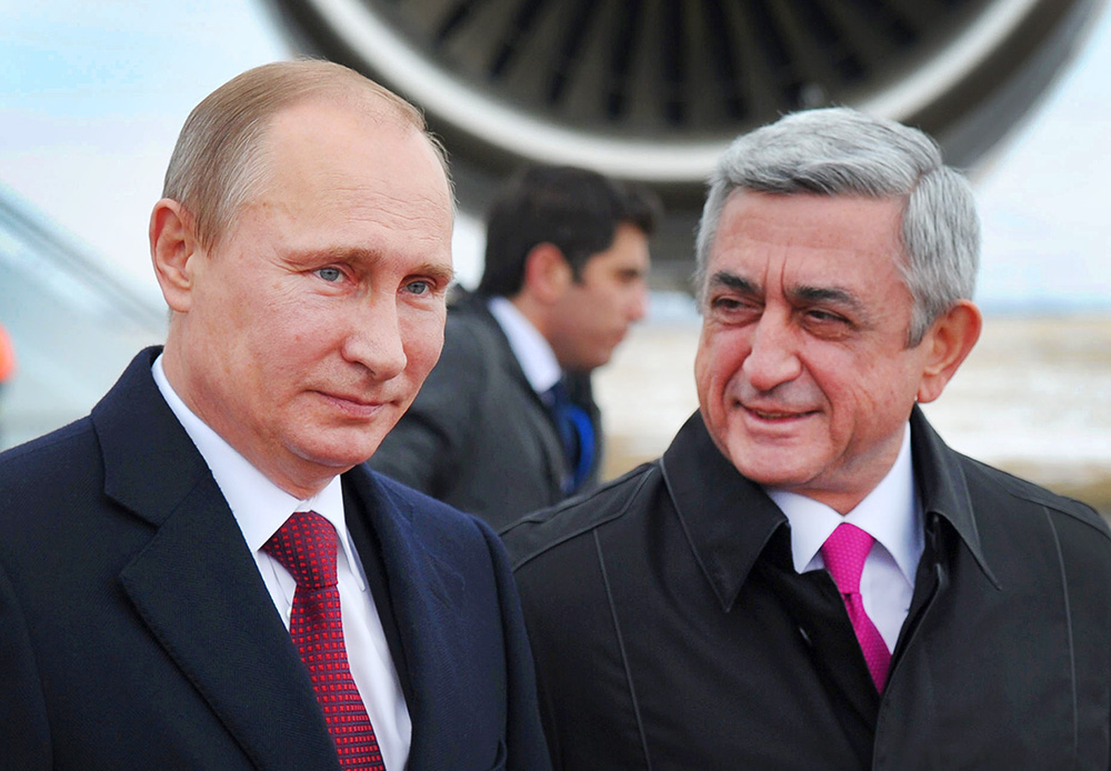 Владимир Путин посетит Армению впервые с момента трагедии в Гюмри -  Газета.Ru