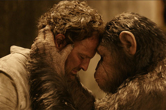 Кадр из фильма «Рассвет планеты обезьян», 2014 год
