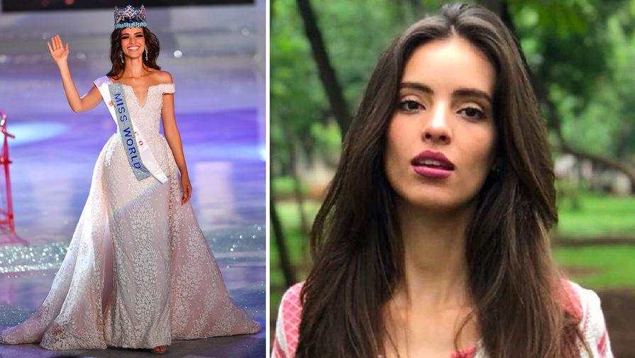 Ванесса Понсе (Мексика), 26 лет, Мисс Мира — 2018