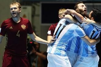 Россия остановилась в шаге от чемпионского титула