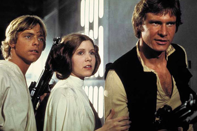 Кадр из фильма «Звездные войны: Эпизод 4 – Новая надежда» (1977)