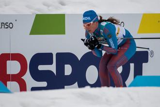 Юлия Чекалева финишировала пятой в составе сборной России в эстафетной гонке 4 х 5 км среди женщин свободным стилем на чемпионате мира по лыжным видам спорта