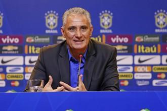 Наставник сборной Бразилии Тите