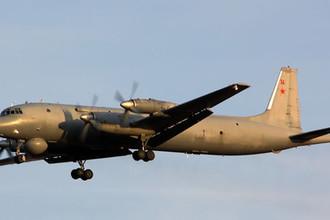 Cоветский противолодочный самолёт средней дальности Ил-38