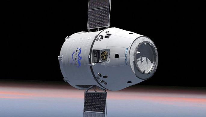 Источник рассказал, когда американский Dragon отправится на МКС