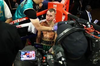 Российский боксер Максим Дадашев