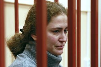 Директор Российского академического молодежного театра (РАМТ) Софья Апфельбаум в Басманном суде Москвы
