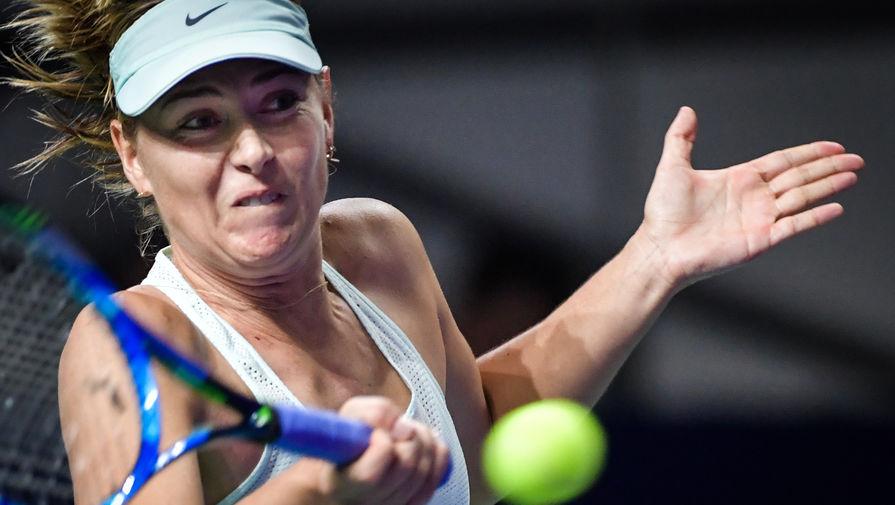Шарапова во второй раз в карьере проиграла четыре матча подряд