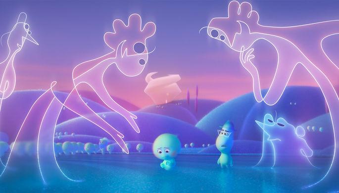 Кадр из мультфильма «Душа» (2021)