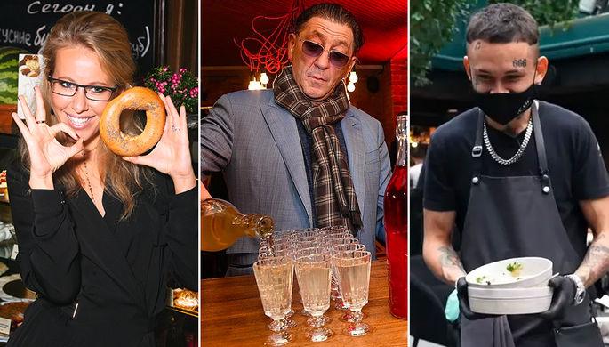 «Рюмка» Лепса, Моргенштерн-официант, виртуальный шеф-повар Собчак: какие рестораны открывают звезды