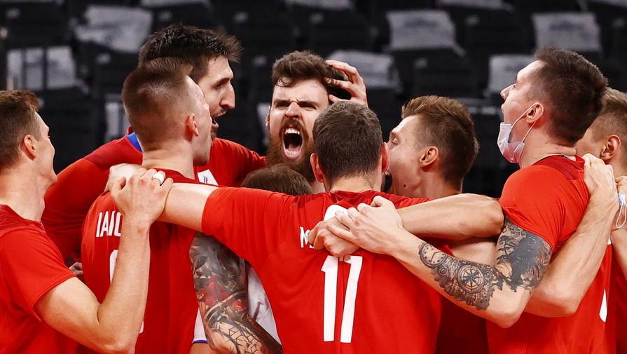 Мужская сборная России по волейболу вышла в полуфинал Олимпиады в Токио