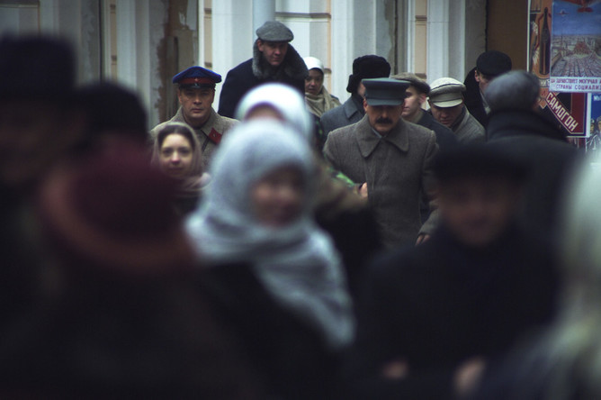 Кадр из сериала «Власик. Тень Сталина»