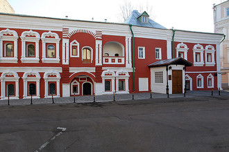 «Палаты Сверчковых.» Главный фасад