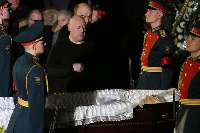 Прощание с народным артистом СССР Марленом Хуциевым в Доме кино, 21 марта 2019 года