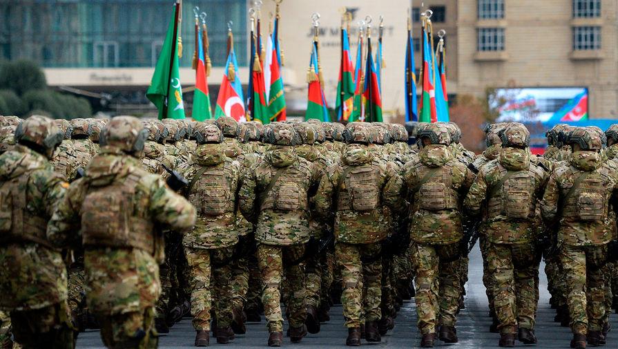Военные трофеи и тюркское единство: как прошел парад в Азербайджане