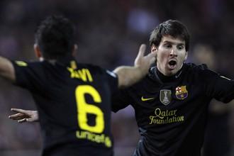 Очередной гол Лионеля Месси помог «Барсе» победить «Атлетико»