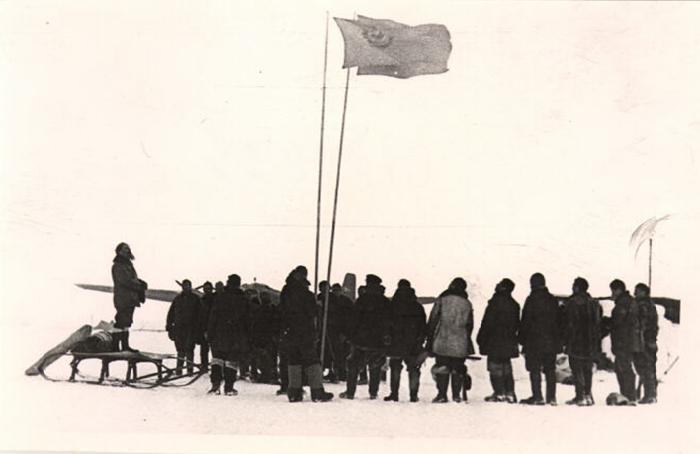 Доклад о первой полярной экспедиции северный полюс 2800