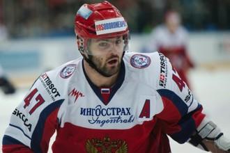 Александр Радулов набрал два очка в матче со шведами