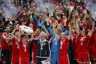 «Бавария» празднует 23 чемпионство