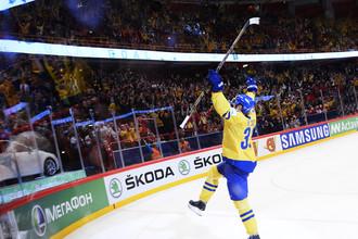 Форвард «Тре Крунур» Хенрик Седин помог своей команде выиграть чемпионат мира
