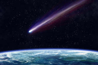 Метеорит принес с собой похолодание
