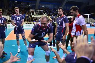 Белгородские волейболисты дают уроки соперникам по Лиге чемпионов