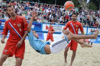 Скоро в Москве снова можно будет насладиться пляжным футболом
